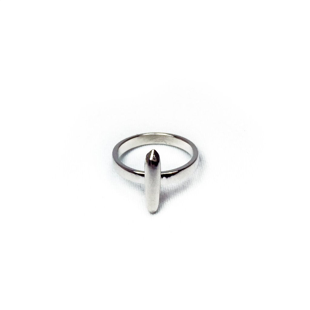 Rock Crystal Ring - Luxe Silver