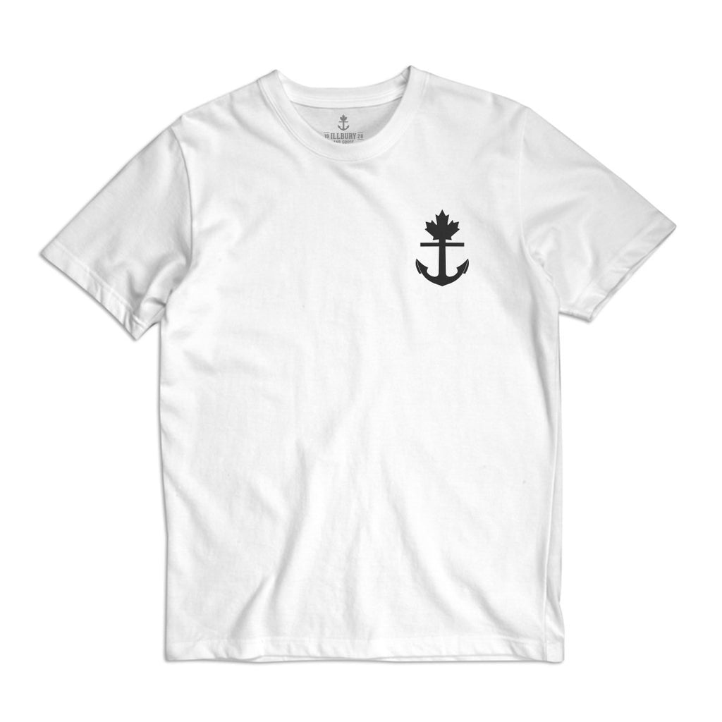 Heavy-duty 100% Cotton Truly Unique White T-Shirt