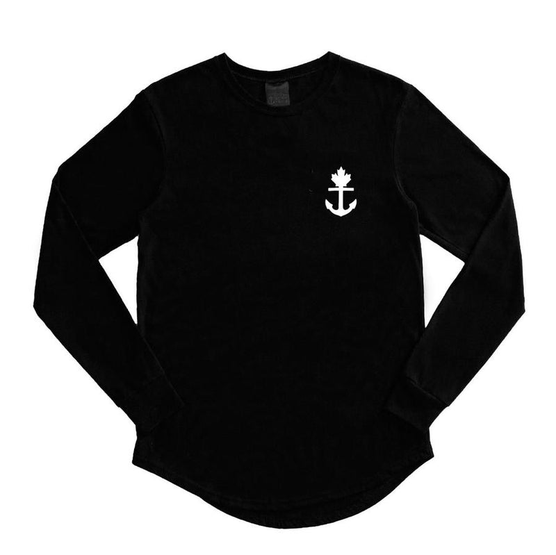 Truly Unique Black Long Sleeve
