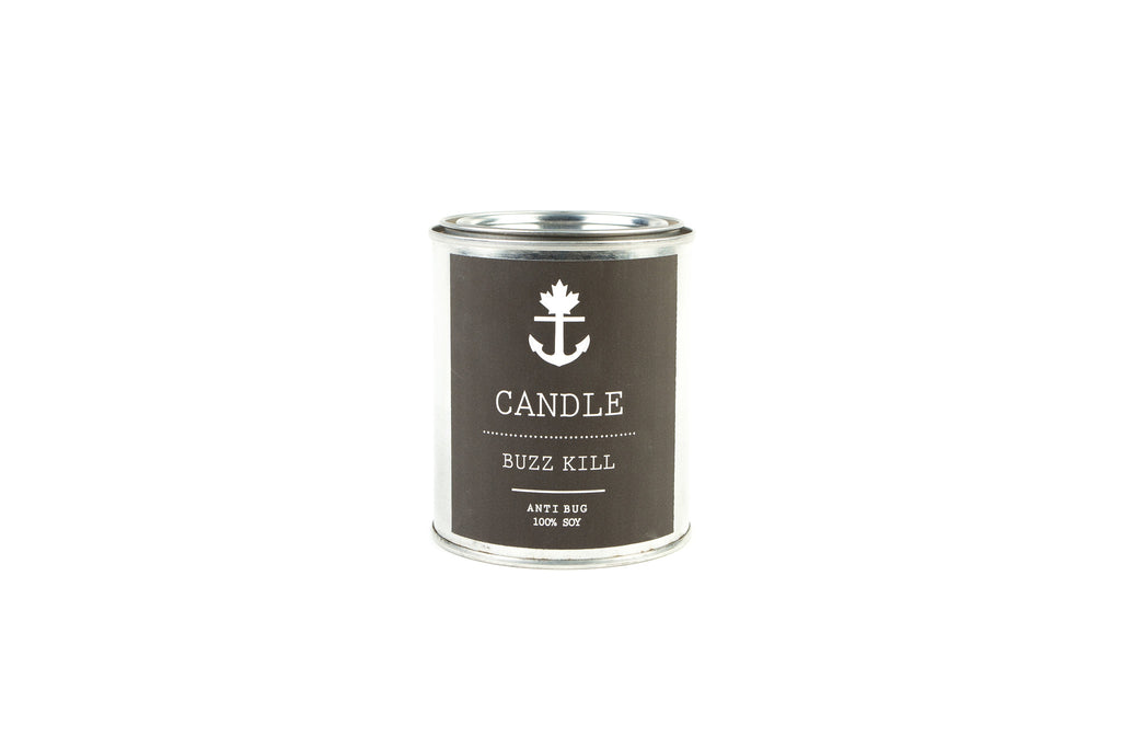 Buzz Kill Camp Candle 1/2 Pint