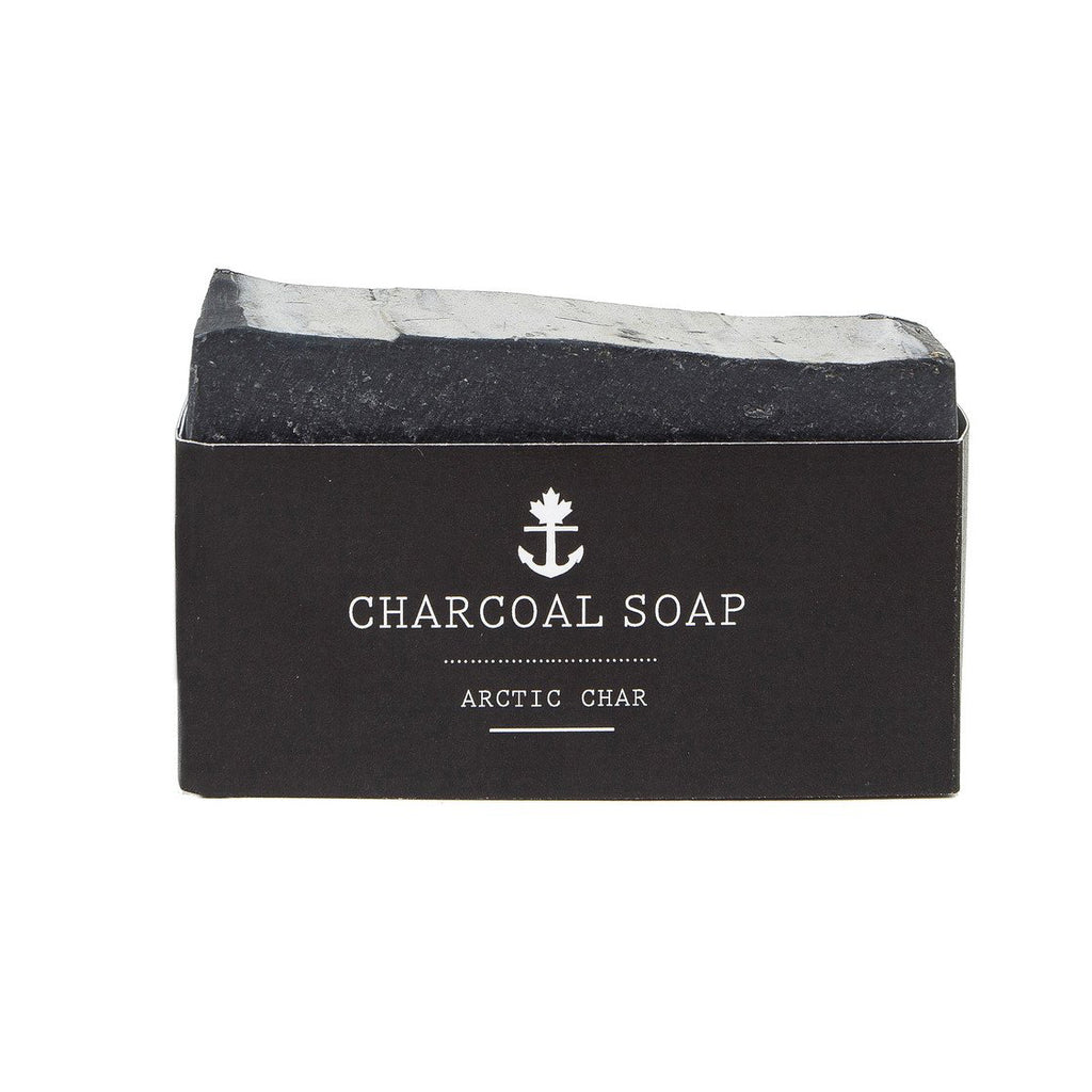 Arctic Char Charcoal Soap