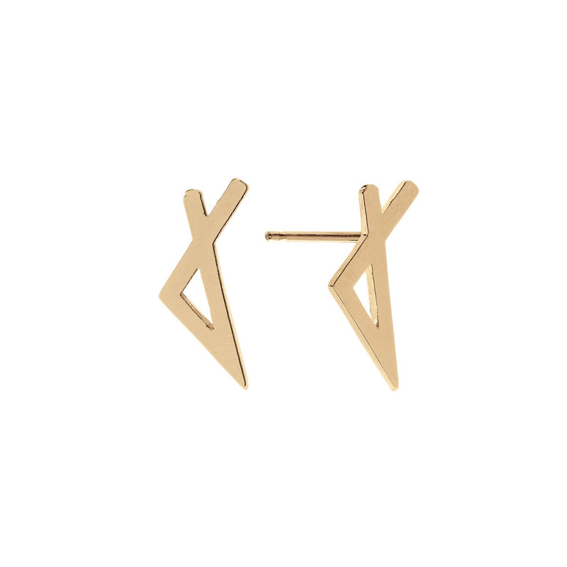 Ely Earrings Gold