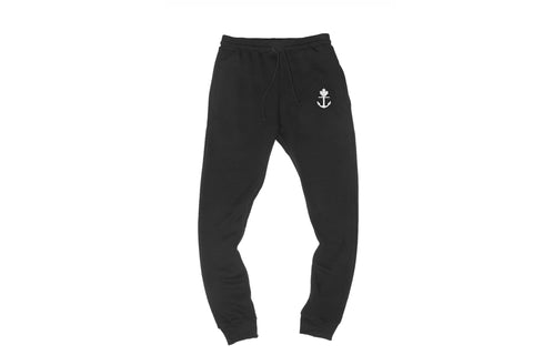 Simple Black Joggers