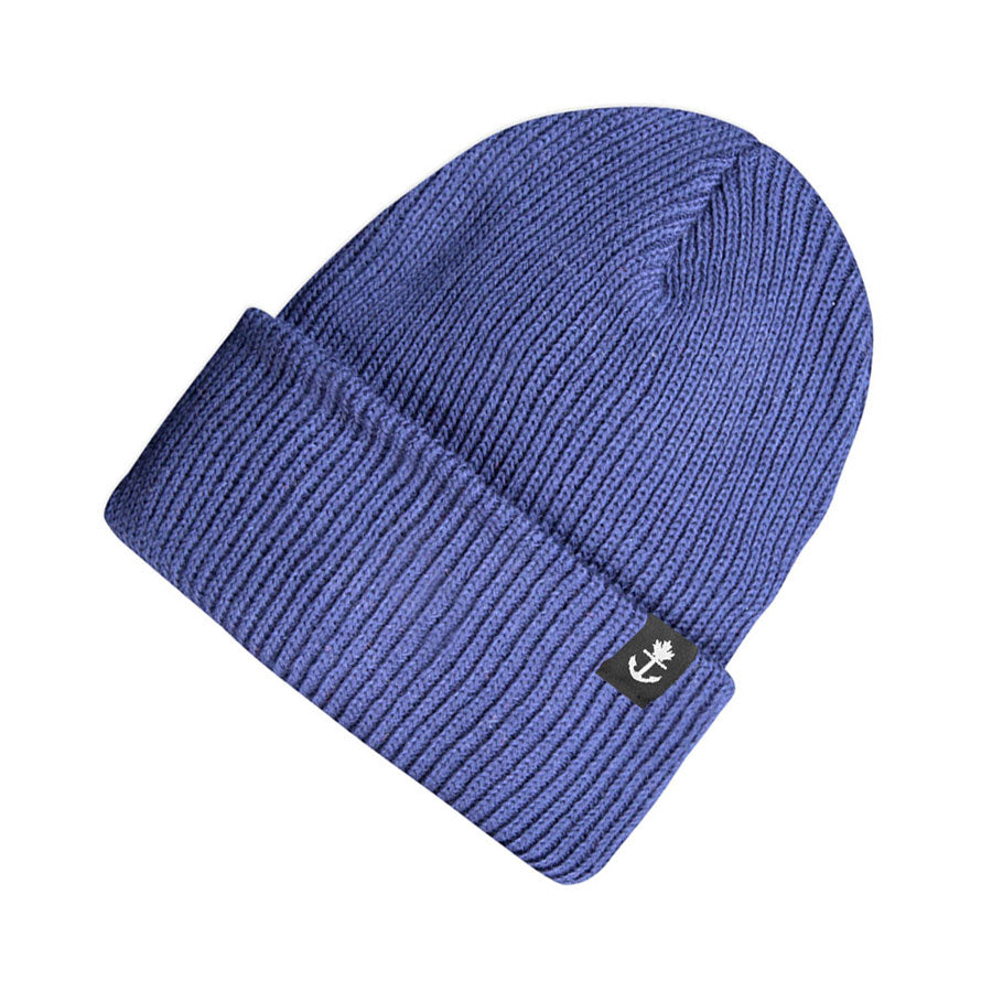 Cotton Provincial Knit Blue