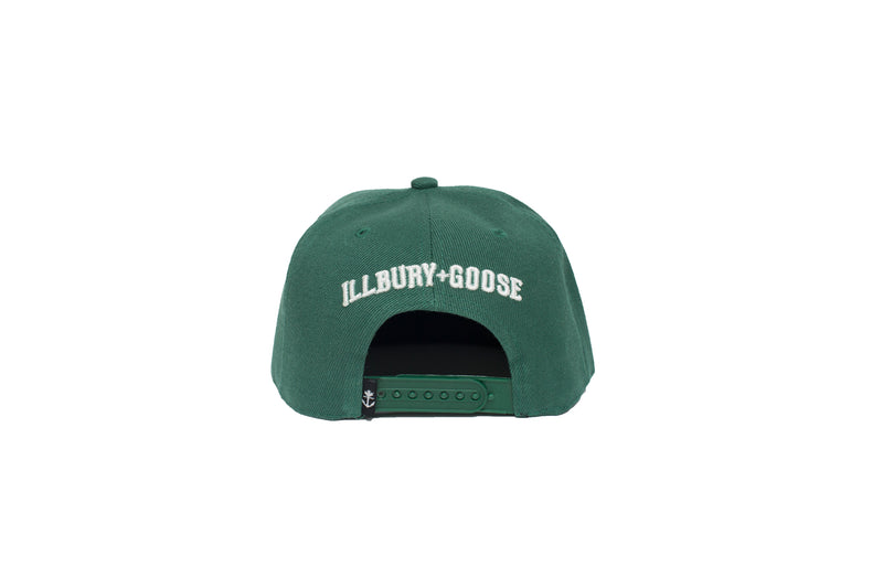 Classic Forest Green Anchor Snapback