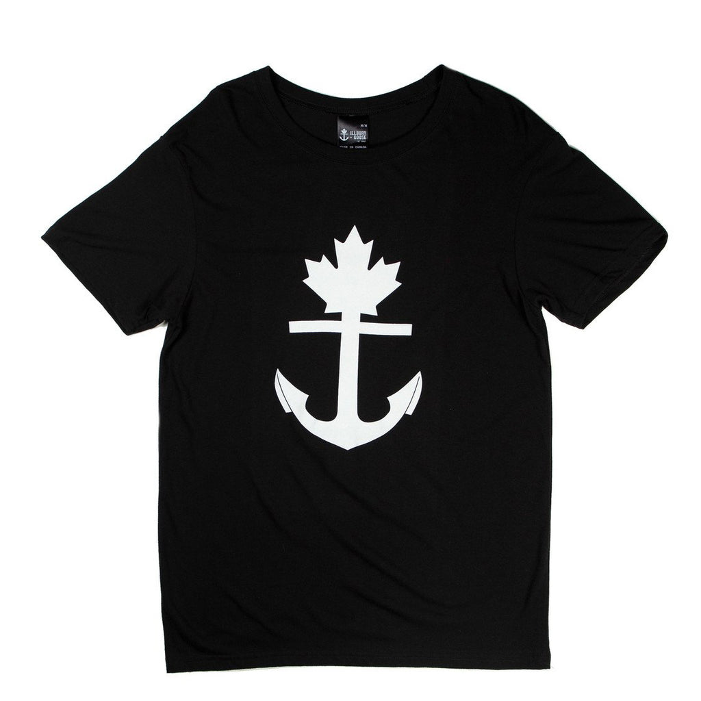 Classic Black Anchor T-Shirt