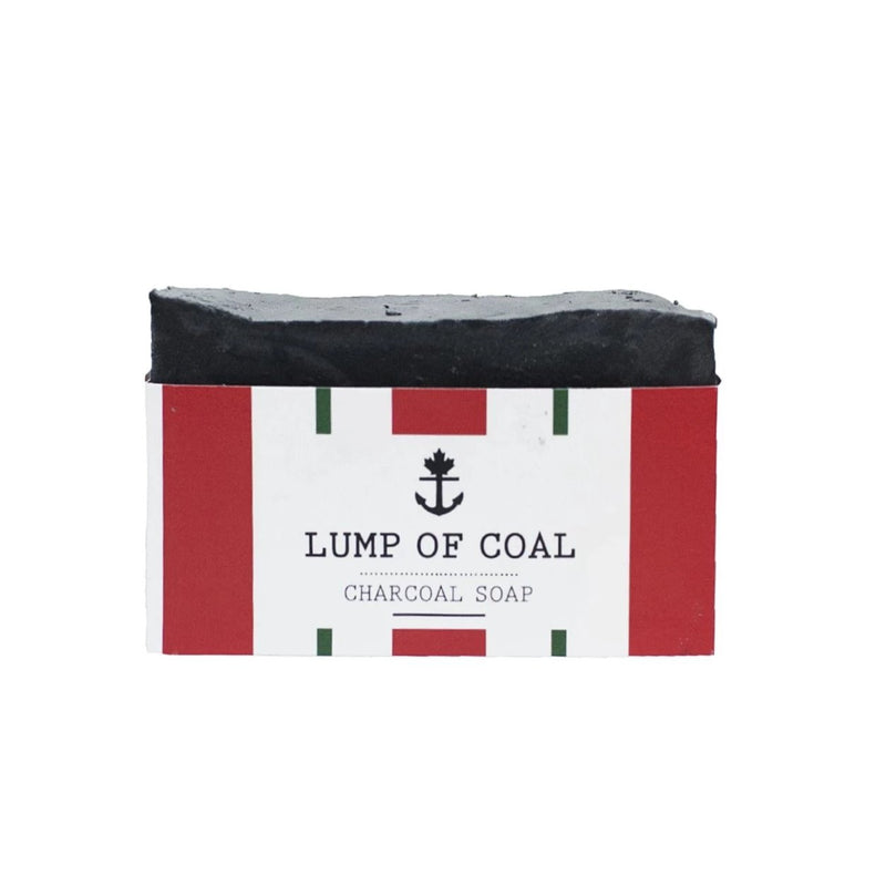 Lump of Coal Charcoal Soap