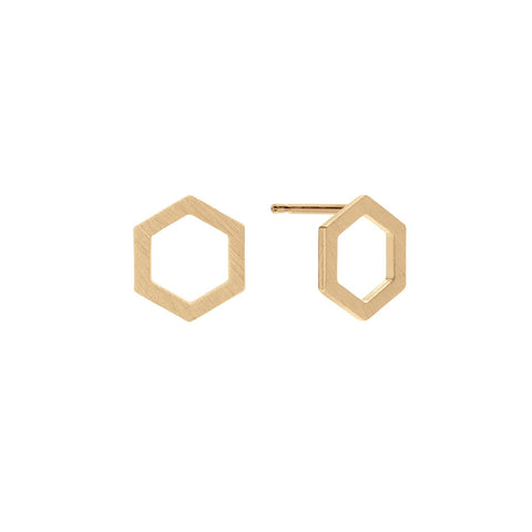 Eva Earrings Gold
