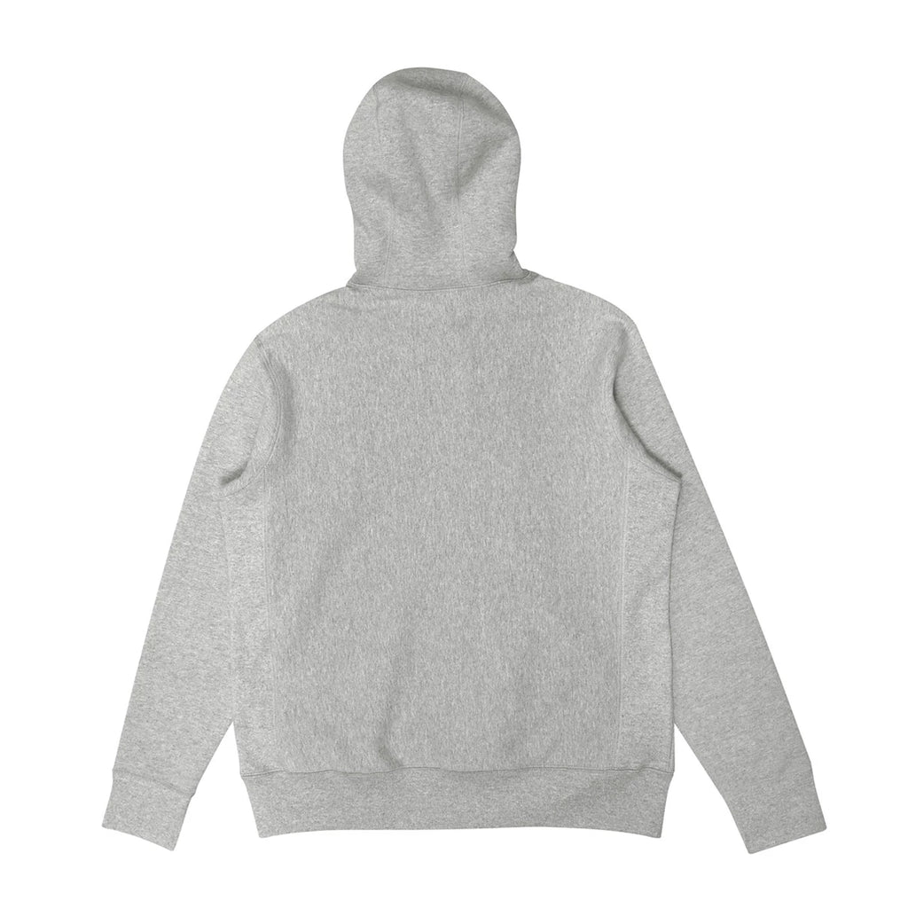 Heavy-Duty Grey Zip-Up Hoodie