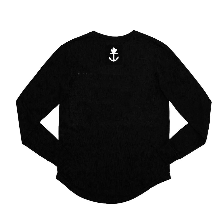 Illbury + Goose Black Heritage Long Sleeve