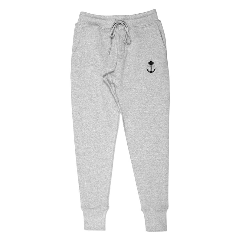 Heavy-Duty Grey Joggers