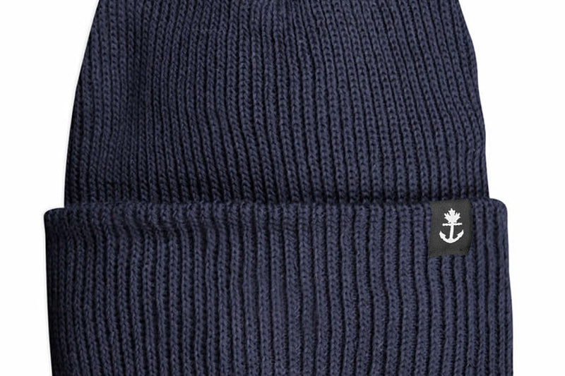 Cotton Provincial Knit Navy