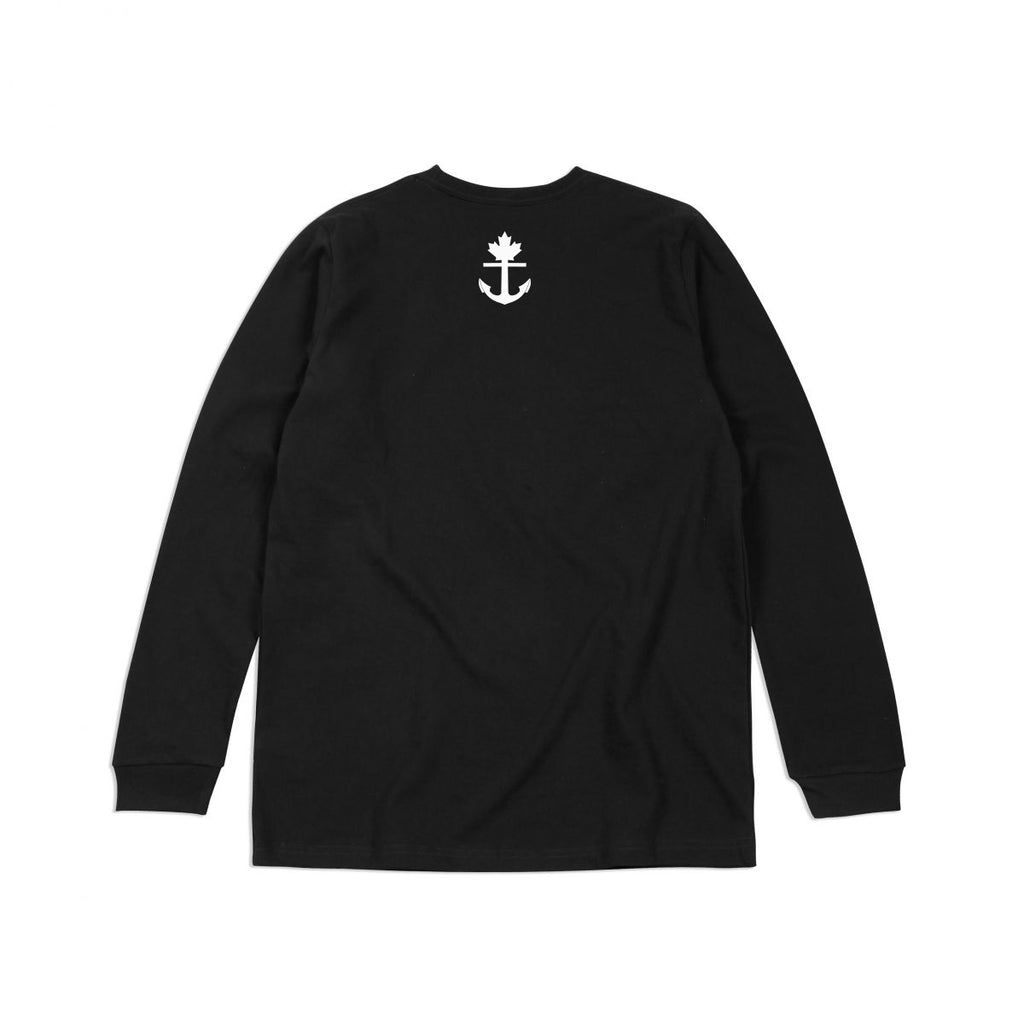 Heavy-Duty 100% Cotton New Age Black Long Sleeve