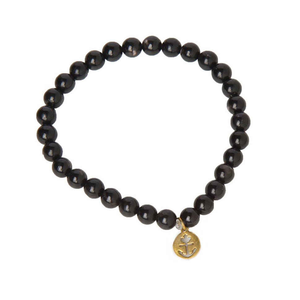 Onyx Constellation Bracelet