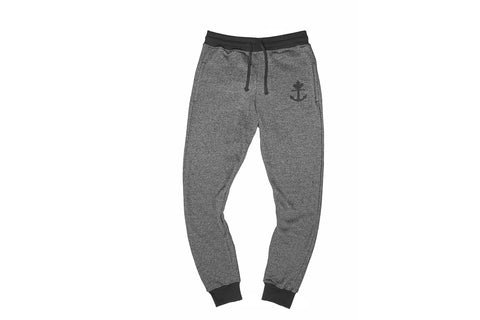 Classic Peppered Black Joggers