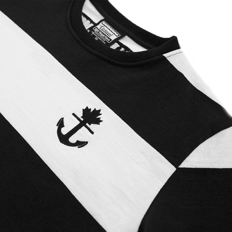 Thick Stripe Rugby T-Shirt