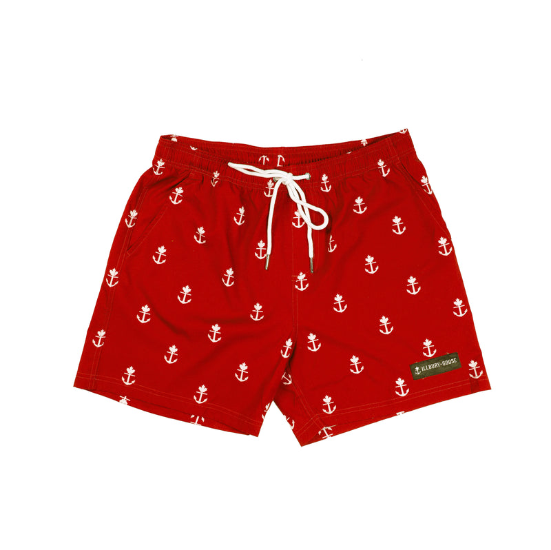 Red Home Shorties