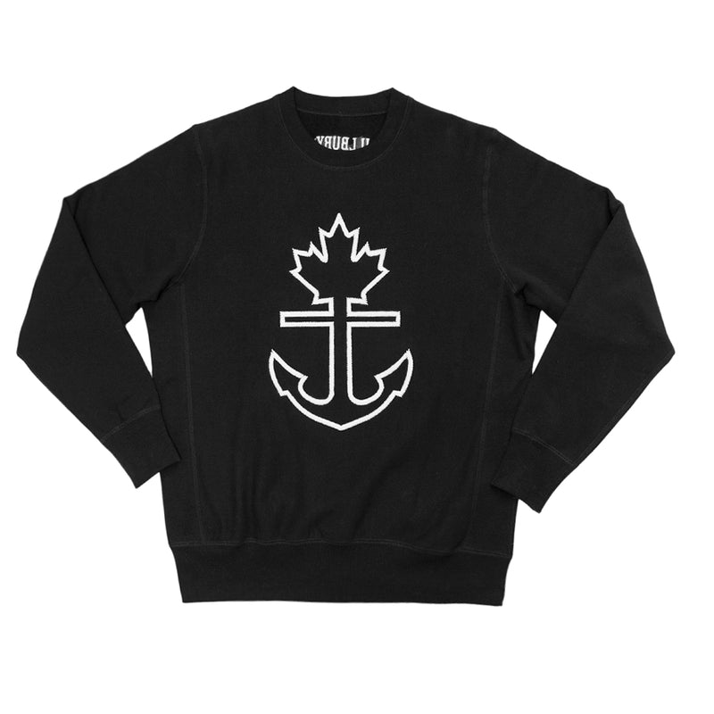 Heavy-Duty Vintage Thread Crewneck