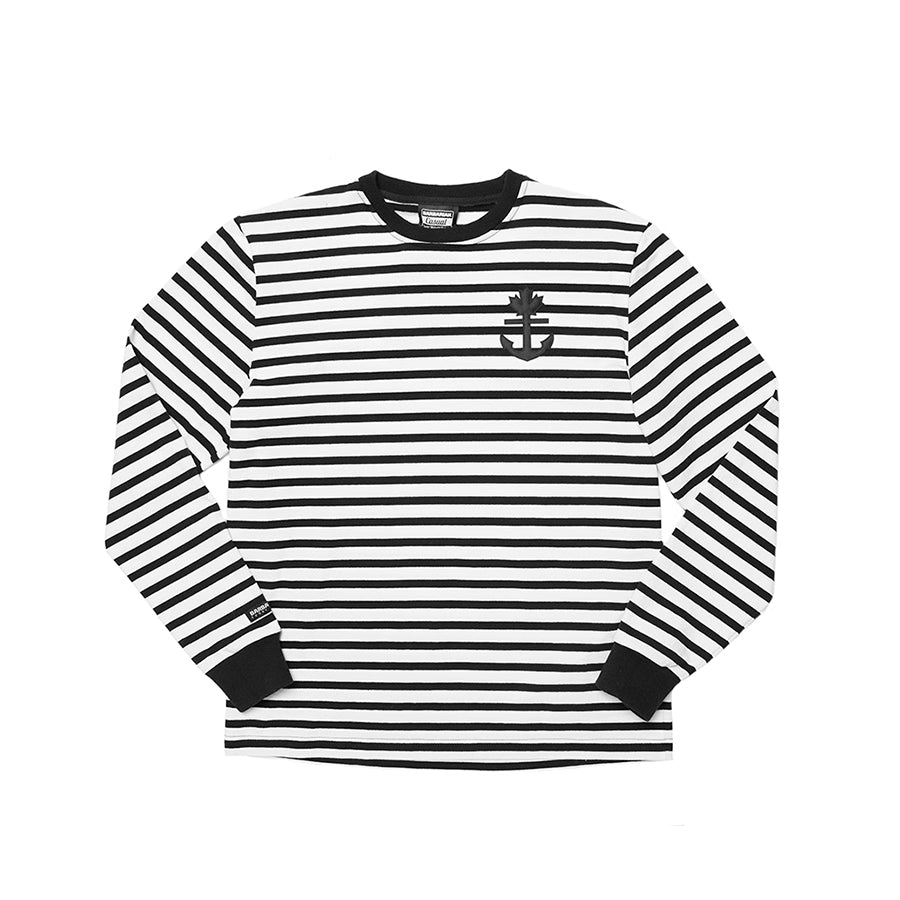 Striped Rugby Crew