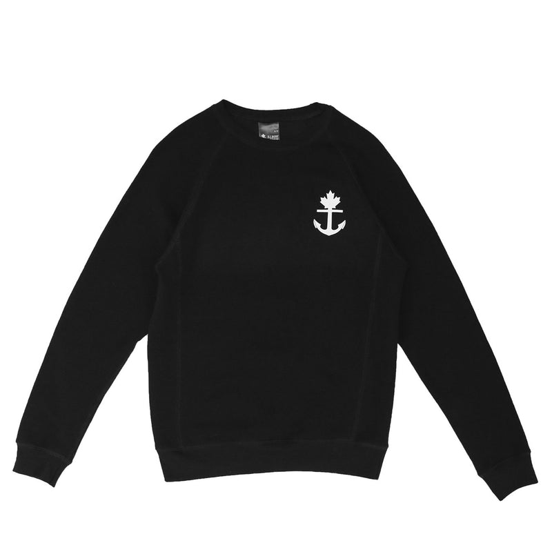 Truly Unique Black Crewneck