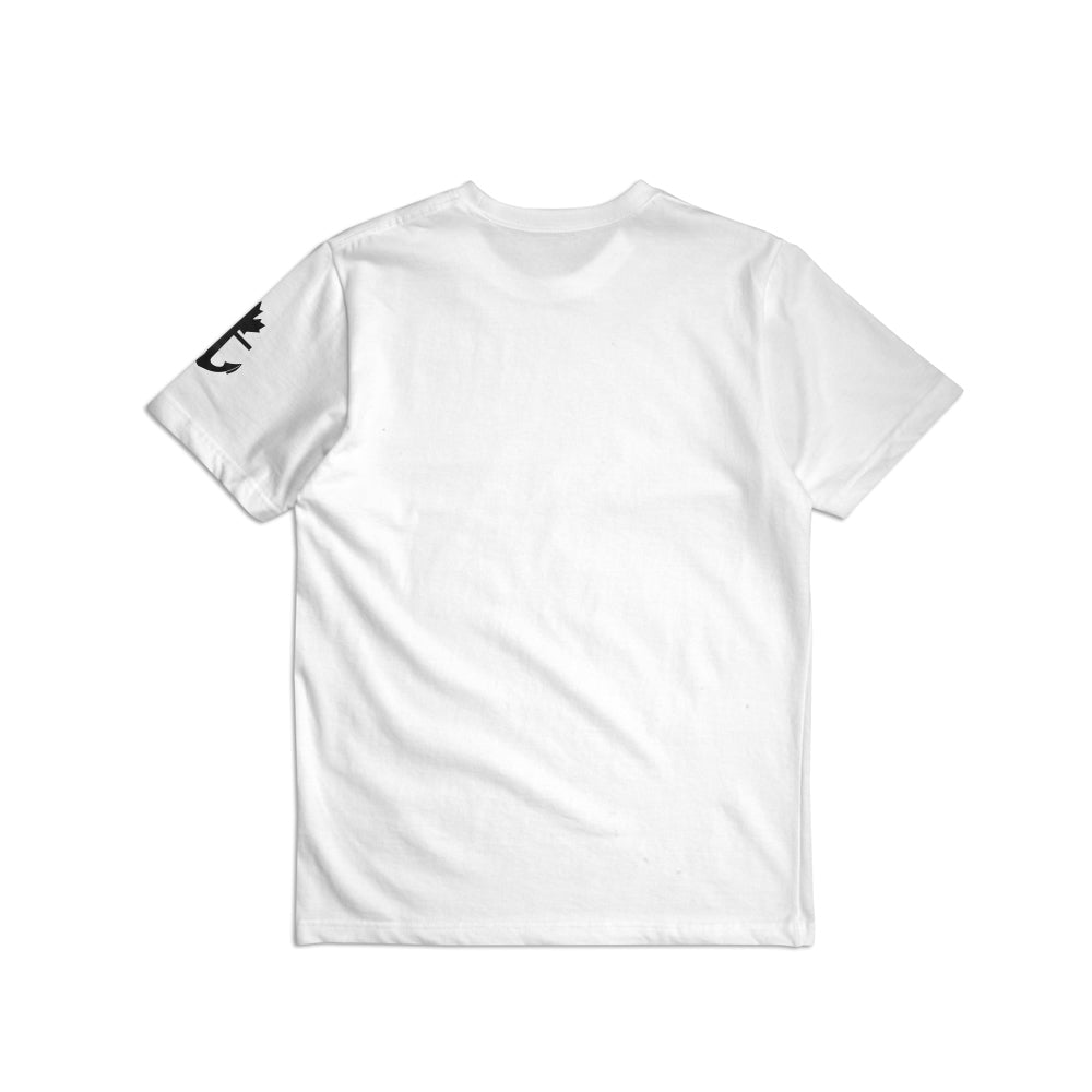 Heavy-Duty 100% Cotton Justified T-Shirt