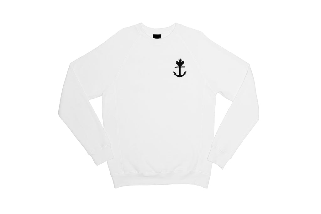 Truly Unique White Crewneck