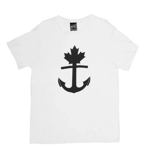 Classic White Anchor T-Shirt