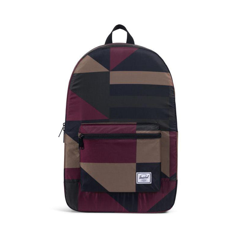 Packable Daypack x Poly Wine Geo