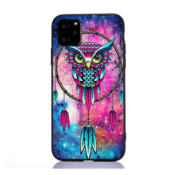 Coque iPhone SE attrape-rêve hibou perché