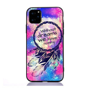 Coque iPhone SE attrape-rêve multicolore