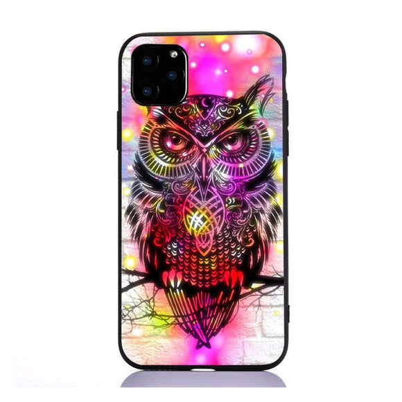 Coque iPhone 7+ attrape rêve hibou