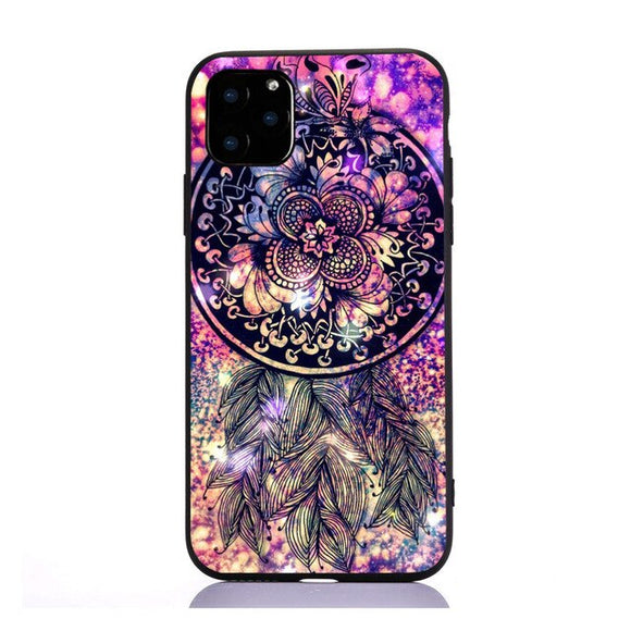 Coque iPhone 7+ attrape rêve violet