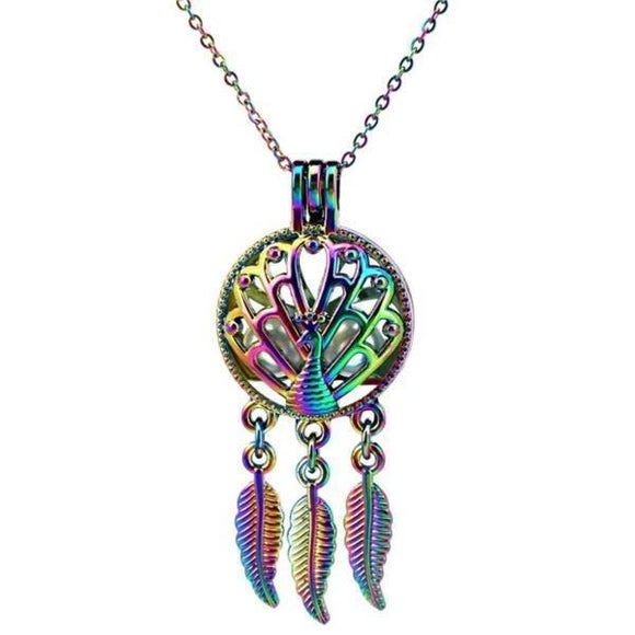 Collier Attrape Rêve Faon multicolore