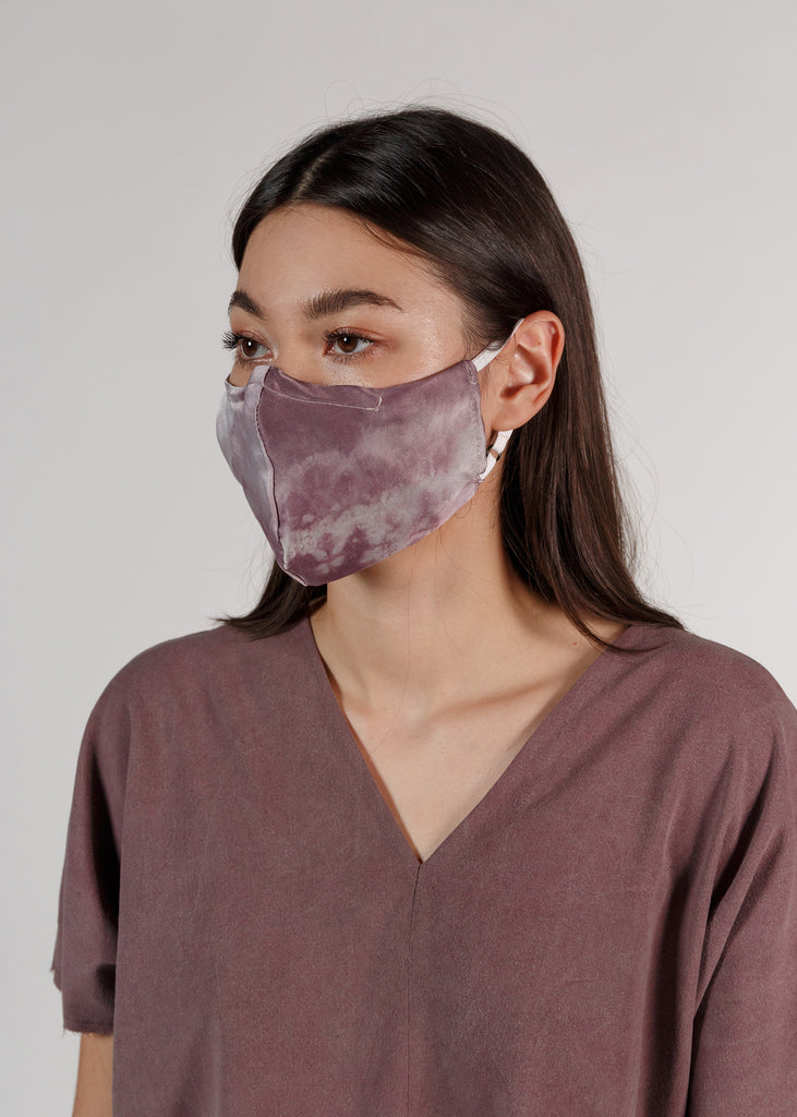 Silk Face Mask: Amethyst