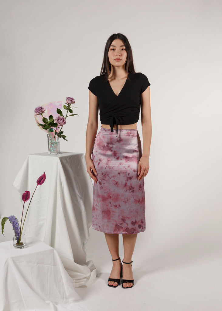 The A-Line Skirt: Amethyst