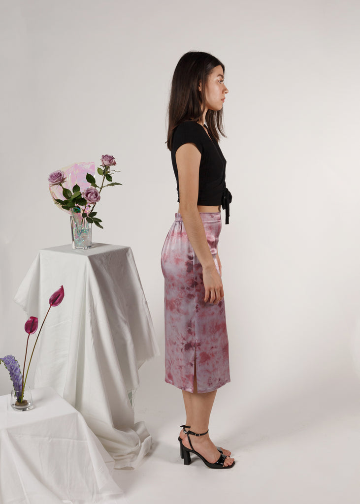 (Made to Order) The A-Line Skirt: Amethyst