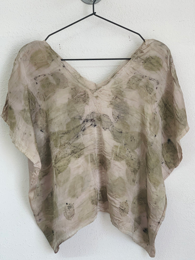 The Butterfly Top: Green Print