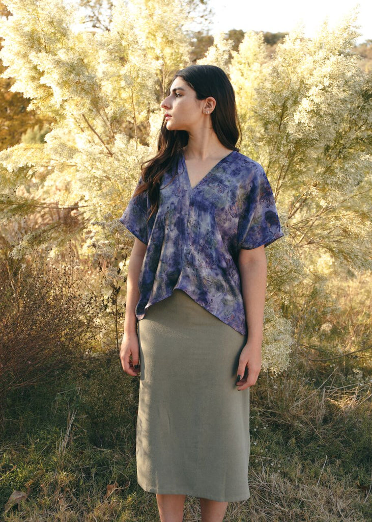 The Butterfly Top: Violet Fields