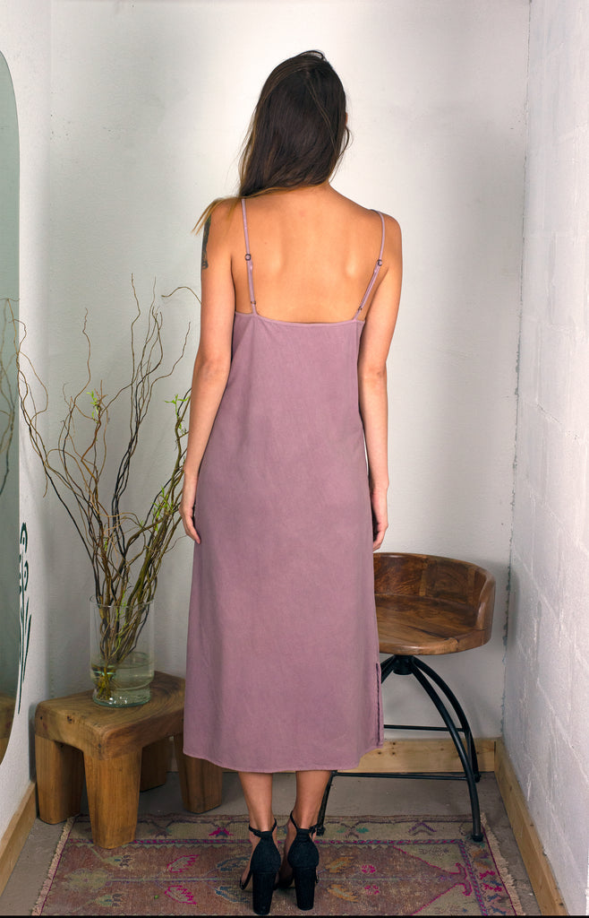(Made to Order) The Slip in Noil: Amethyst