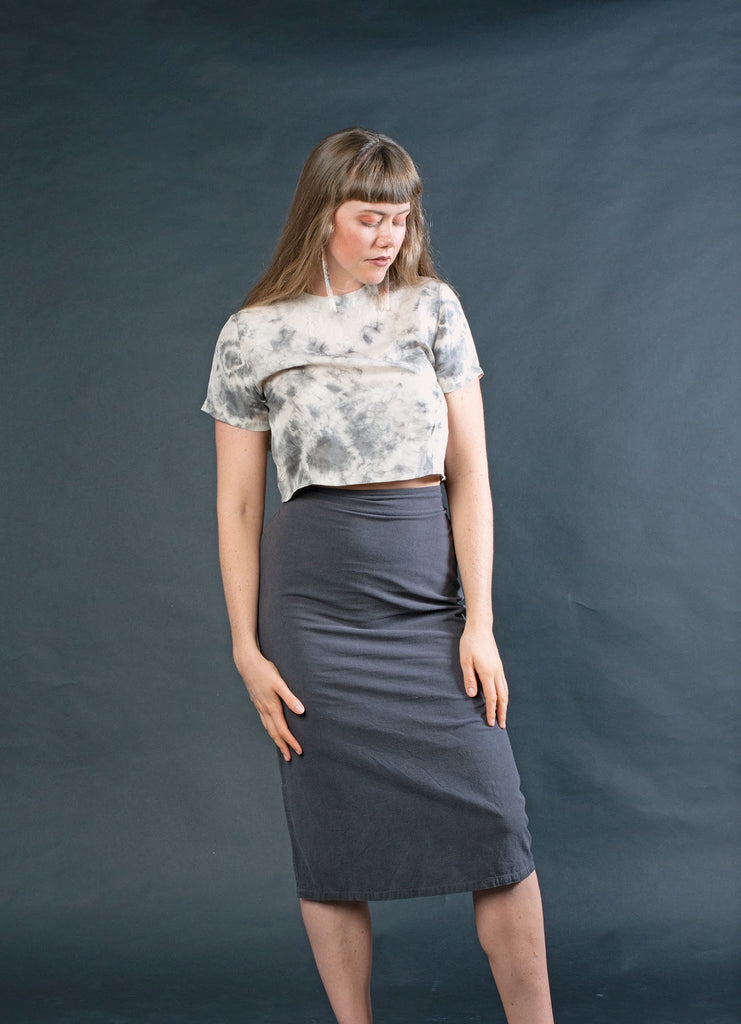 The A-Line Skirt: Charcoal