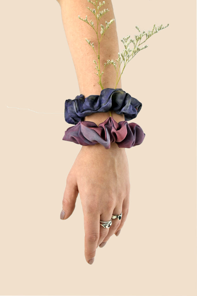 The Scrunchie: Purple Tones