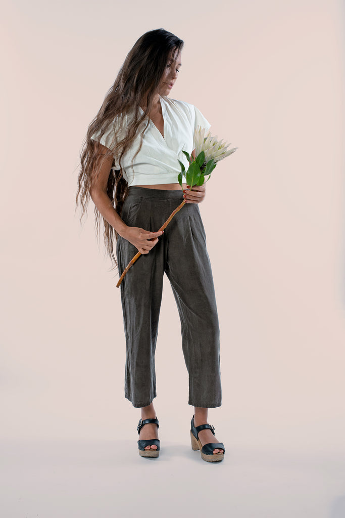 (Made to Order) The Pant: Charcoal