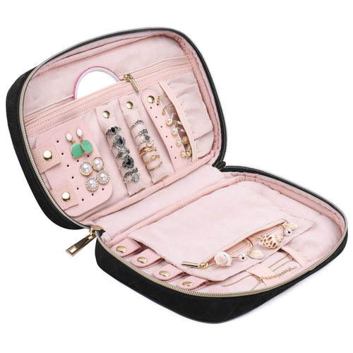 Fashion NW5032 Travel Jewelry Storage Case Bag Women