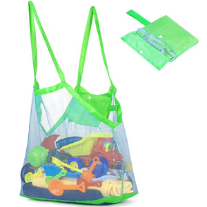 Extra Large Mesh Sand Away Net Toys Totes for Beach Kids NW1116