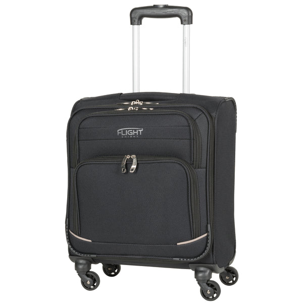 Lightweight 4 Wheel Soft Case Polyester Cabin Case 50x40x20cm BA TUI Approved