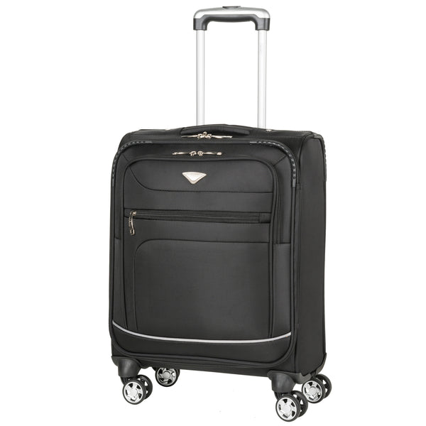 Lightweight 8 Wheel Soft Case Cabin Carryon Suitcase Approved for 78 Airlines