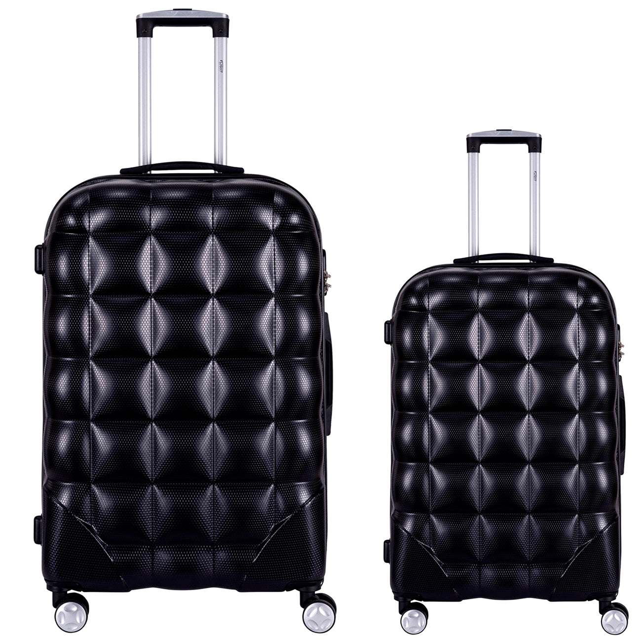 Bubble Suitcase Ryanair easyJet Jet2 Approved Hardcase Suitcases Size Options