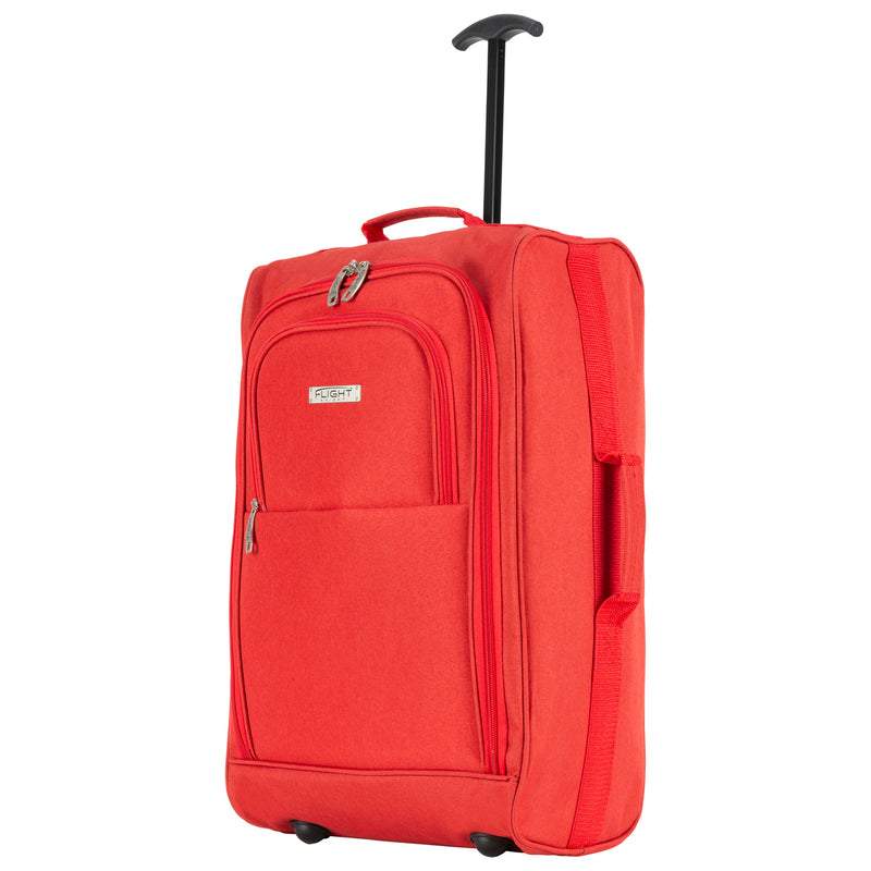cabin - 21.5'' x 2 + holdall x 2|redcanvas