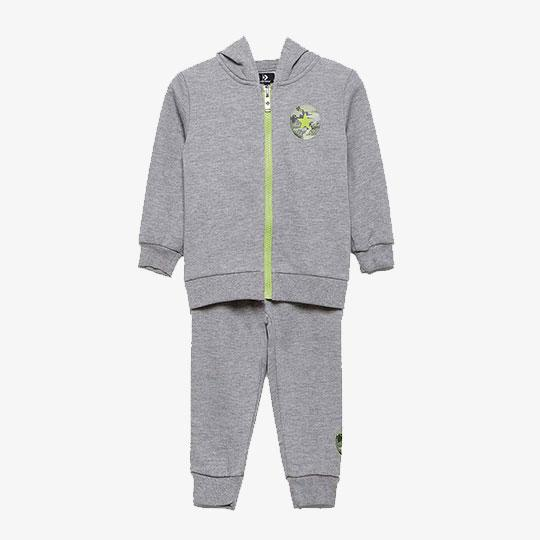 ABBIGLIAMENTO - DINO FRENCH TERRY FULL ZIP SET