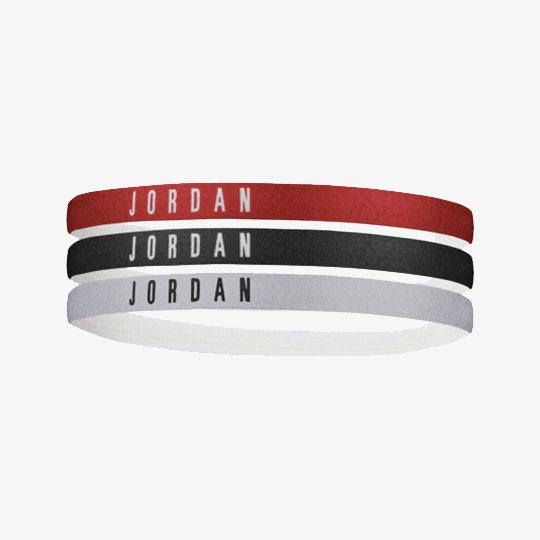 ACCESSORI - JORDAN ELASTIC HAIRBANDS 3 PEZZI